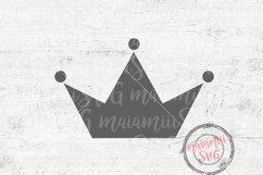 Tiara Svg, Crown SVG, Princess Crown Svg, Cute Svg Product Image 2