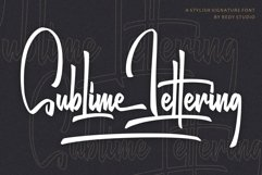 Sublime Lettering Product Image 1