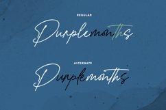 Purplemonths Signature Font Product Image 6