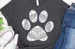 Pawprint Mandala SVG Product Image 2