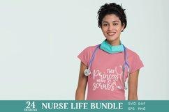 24 Nurse Life svg bundle - nurse shirt svg bundle Product Image 5