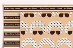 Black Lives Matter Digital Paper Seamless Product Image 2