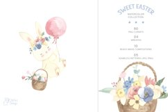 EASTER clipart. Watercolor set Product Image 2