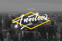 Angelow Typeface Product Image 1