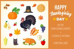 Set of Thanksgiving Elements Product Image 1