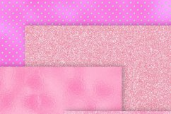 Blush Pink Foil Textures Digital Paper Product Image 4