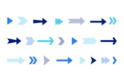 Arrow icons set Product Image 1