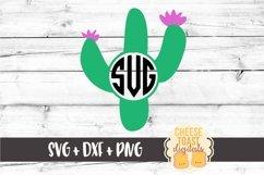 Cactus Monogam - Monogram SVG File Product Image 2