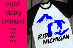Ride Michigan Snomobile SVG Product Image 1