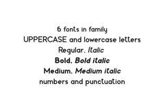 Fabiano. Sans serif family. Product Image 6