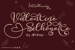 Valentine Silhouette - WEB FONT Product Image 1