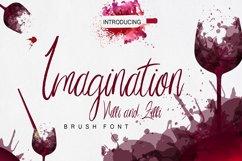Imagination Script Font Product Image 1