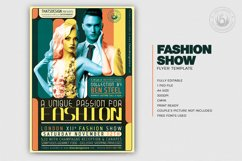 Fashion Show Flyer Template V1 Product Image 2