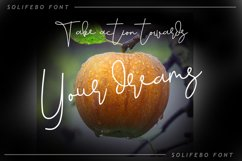 Solifebo Font Product Image 3