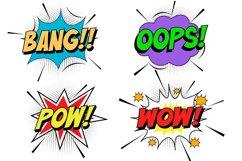 Buzinga! | Comic Layered Font Product Image 4
