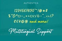 Authentica - A Simple Stylish Monoline Script Product Image 8