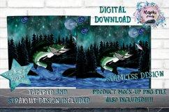 Outdoors  Fishing 20oz Sublimation Design  Tumbler Wrap Product Image 2