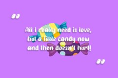 Candy Jelly Playful Display Font Product Image 5
