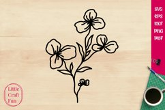 Flowers Svg, Florals Svg Product Image 1