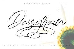 DaisyRain | Handwriting Script Font Product Image 1