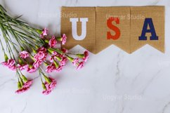 American flag on Memorial day honor respect patriotic Product Image 1