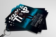 Squad & Trap | Urban Flyer Template Product Image 3