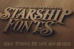 Starship Typeface Product Image 4