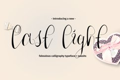 Last Light Calligraphy Script Product Image 1