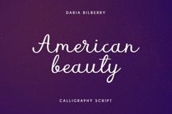 American beauty Product Image 1