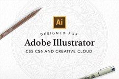 Vector Mandala Creator PRO for Illustrator Product Image 5