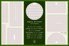 Stitched Nesting Shapes V2 Fancy Stitches   sketch foil SVG Product Image 4