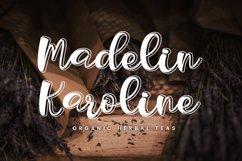 Outline Script Font - Liorentin Outline Product Image 3