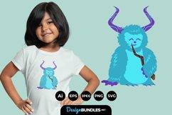 Monster Illustrations for T-Shirt Design Product Image 1