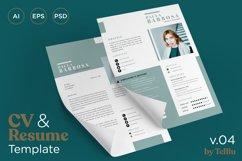 Resume CV v.04 Product Image 1