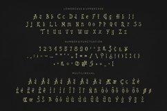 Web Font Thunder Music Font Product Image 5