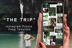 """Instagram Puzzle Feed Template - """"The Trip"""" Product Image 1"""