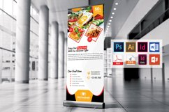 Restaurant Roll Up Banner Vol-02 Product Image 4