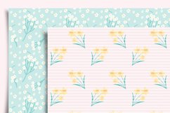 Spring Flowers Digital Paper Product Image 5
