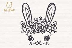 Easter Bunny Face svg , Easter Svg, Easter Decor Product Image 2