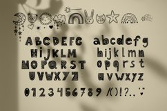 Baby cute font Product Image 4