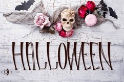 Web Font Hello Halloween - A Spooky Font Product Image 2
