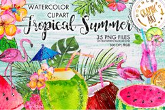 Tropical Summer Clip Art Product Image 1