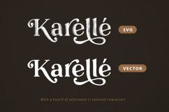 Karelle SVG - An Organic Serif Product Image 3