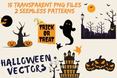 Halloween SVG- Pumpkin, Houses, Witch, Trees, Spider, Ghost Product Image 2