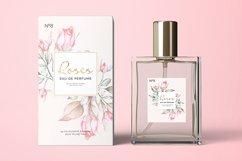 Pink Roses Watercolor Bundle Product Image 5