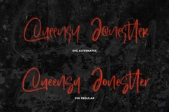 Dinomo SVG Brush Font Product Image 4