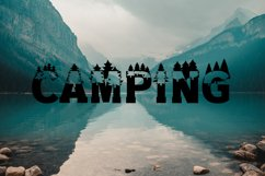 Forest Outdoors Font Product Image 4