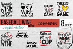 Baseball Wine Bundle SVG, DXF, PNG, EPS Product Image 1
