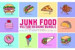 Junk Food Vector Designs Bundle Product Image 1