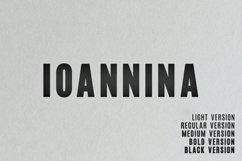 Ioannina Sans Serif Family Product Image 1